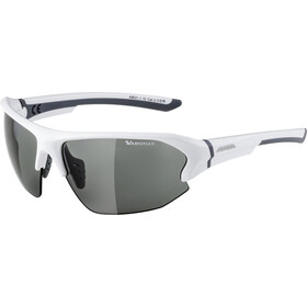 Alpina Lyron HR VL Okulary rowerowe, white-grey